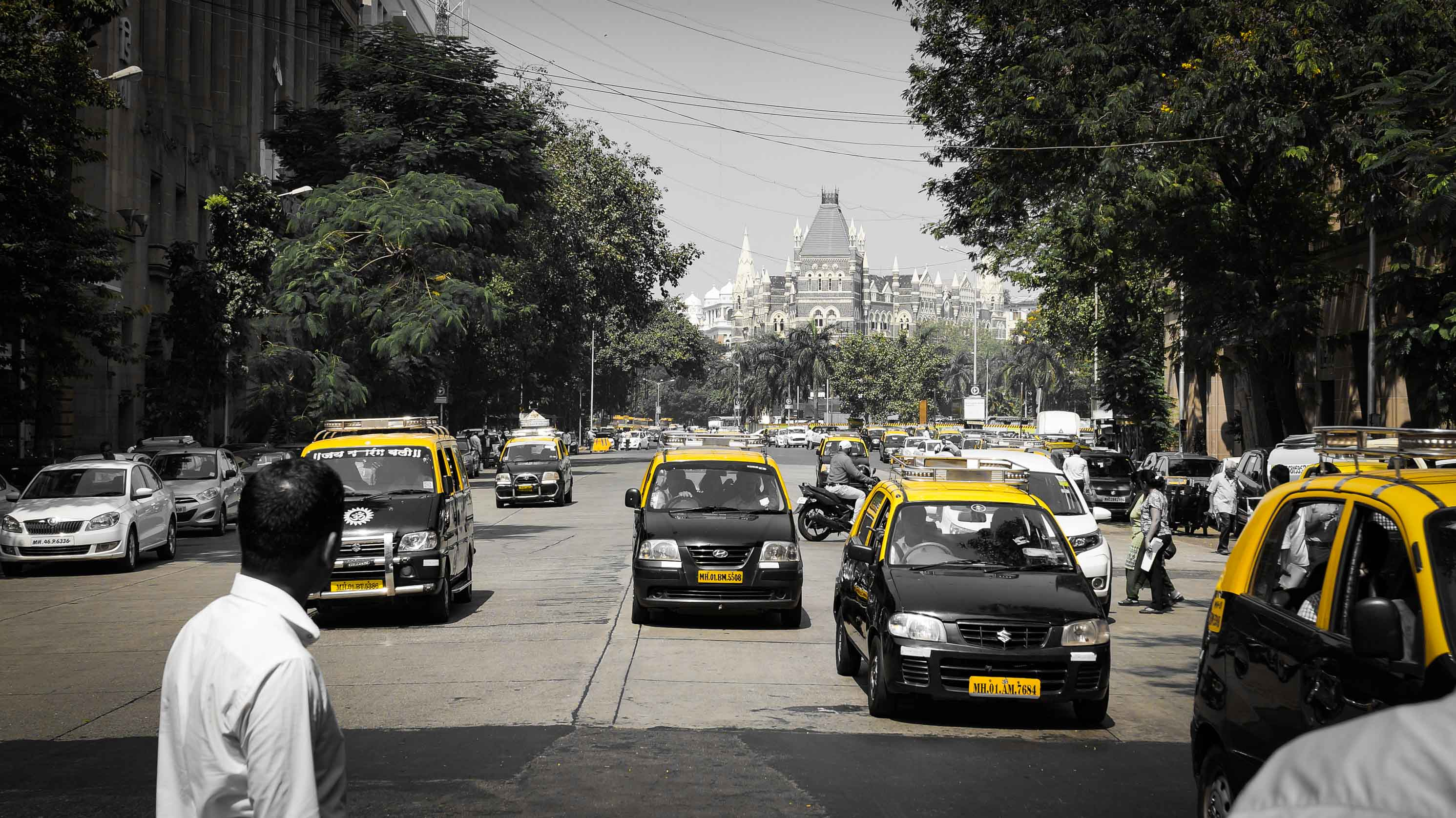 Taxifahrer in Mumbai müsste man sein